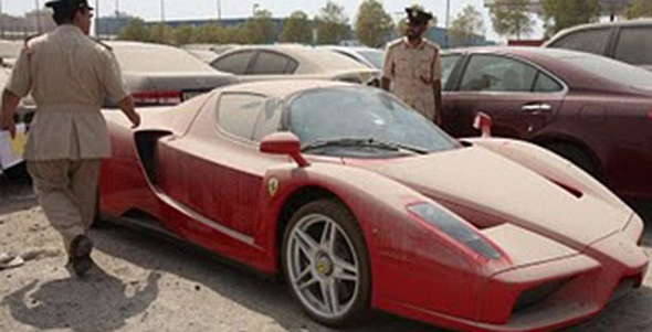 The Dhs11 million Ferrari that\u0027s been impounded in Dubai for