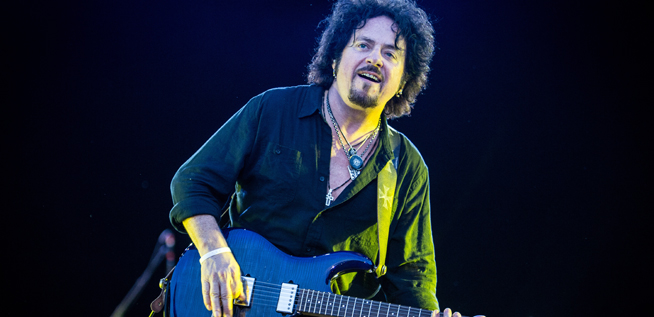 We chat to Steve Lukather from Toto ahead of his Jazz Fest gig