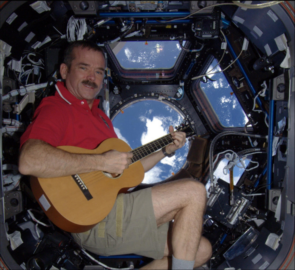Chris hadfield guitar