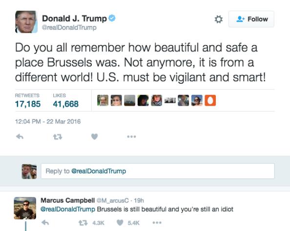 Donald Trump Dubai