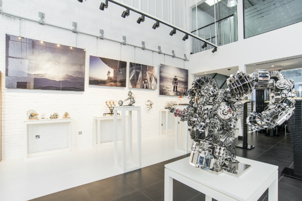 MB&F MAD gallery