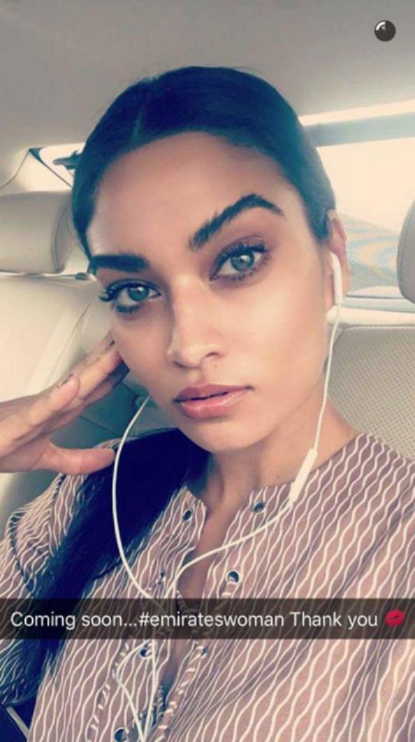 Shanina Shaikh Dubai