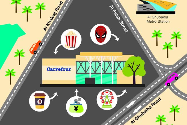 Shindagha City Centre Illustration