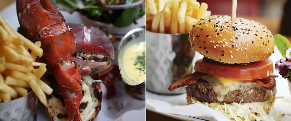 burger lobster