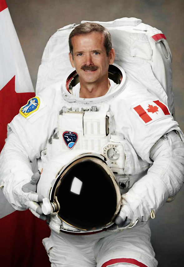 chris hadfield astronaut