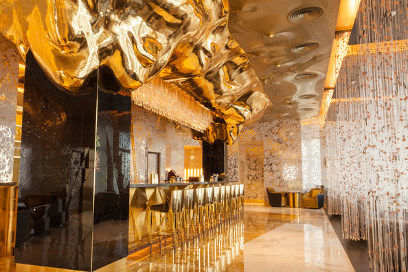 The New Gold On 27 Bar At The Burj Al Arab Is Insane In A