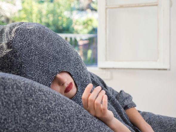 nap poncho