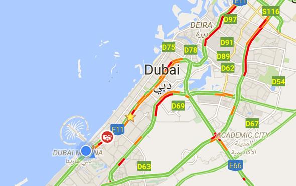 rain-dubai-traffic