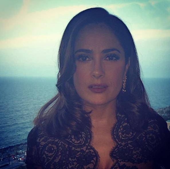 Salma Hayek Dubai