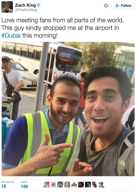 zach king dubai