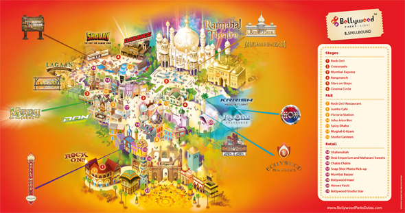 Bollywood-Parks-Dubai-Map