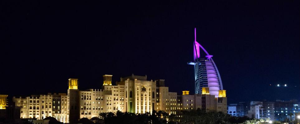 Dubai Dry Night