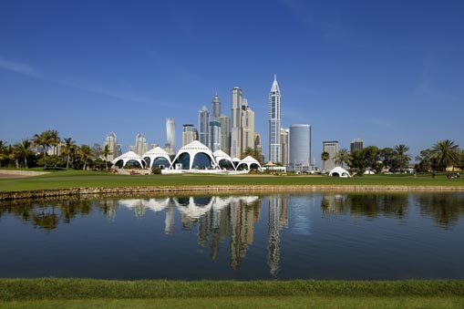 Emirates Golf Club Clubhouse