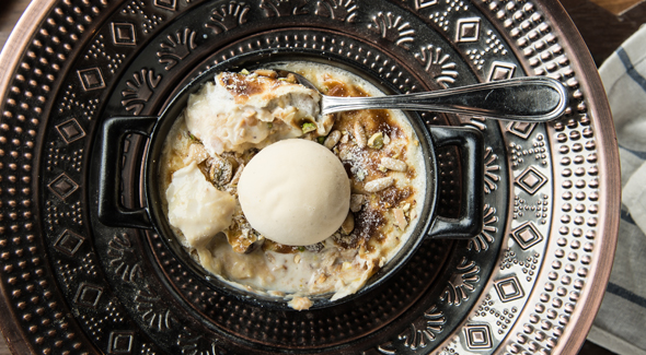 F-Um-Ali,-honey-&-labneh-ice-cream-2