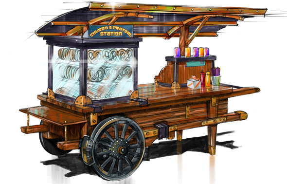 Lost-Valley-Churro-&-Pretzel-Cart
