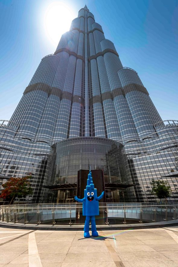 Loveable Mr. Burj marks debut to enthrall little ones