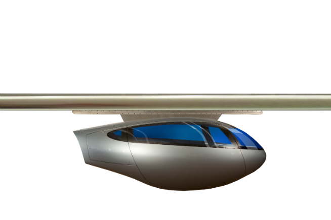 skyTran vehicle