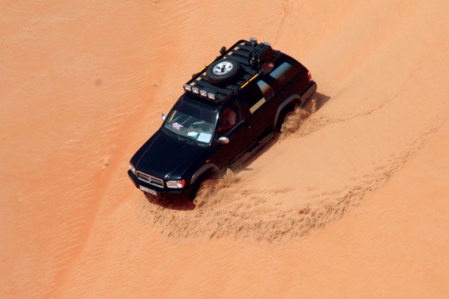 arabian tour - off roading