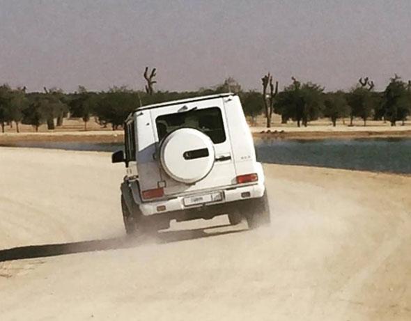 Sheikh Mohammed car