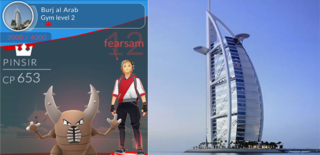 pokemon dubai