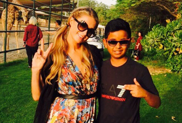 rashed belhasa paris hilton