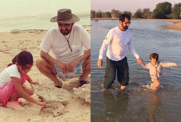 sheikh mohammed children