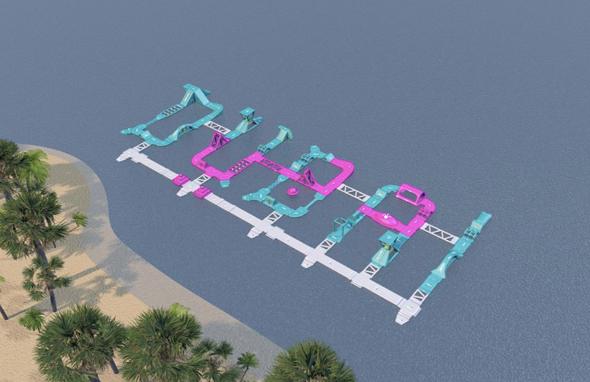 Dubai Inflatable park