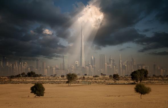 dubai-skyline-burj-khalifa-ghaf-tree