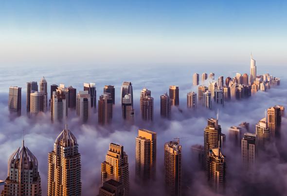 dubai-skyline-marina-jlt-clouds
