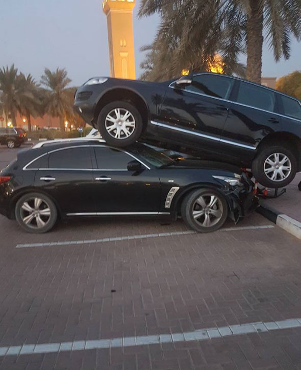 bad dubai parking