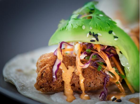 Zoco baja fish tacos