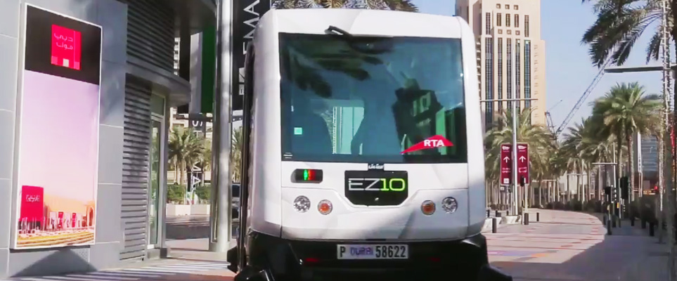 driverless car dubai