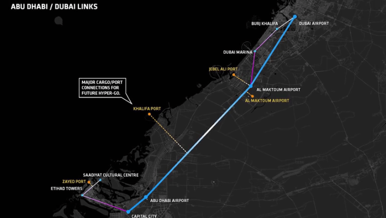 Hyperloop-One-map