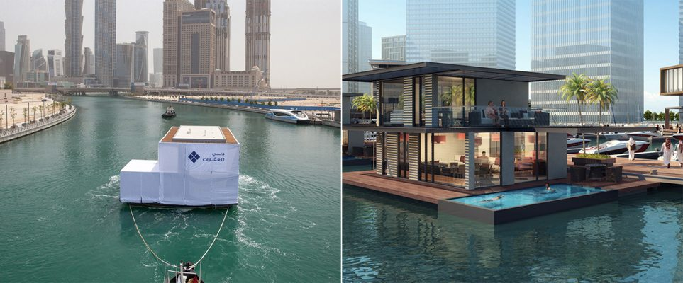Yes This Is An Actual Villa Floating Along The Dubai C What S On