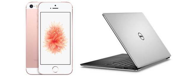 iphone laptop