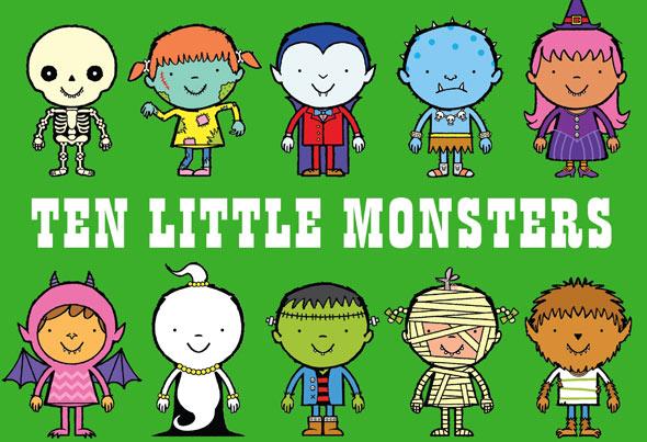 ten-little-onsters
