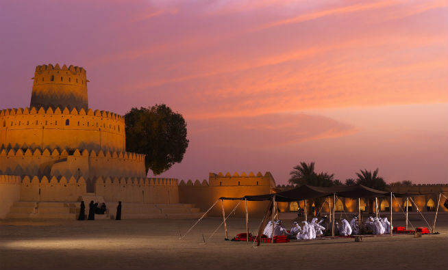 Al Jahili Fort TCA Abu Dhabi