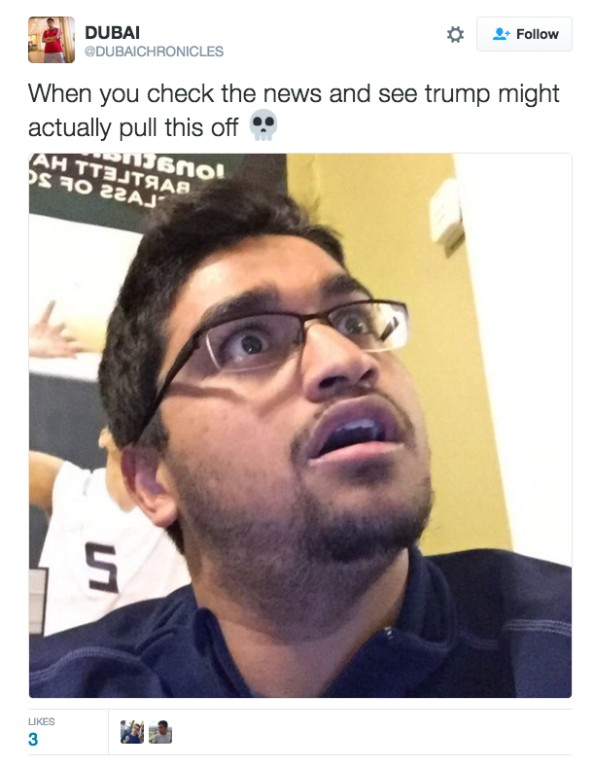 donald trump reaction