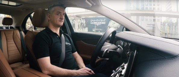 self driving car dubai