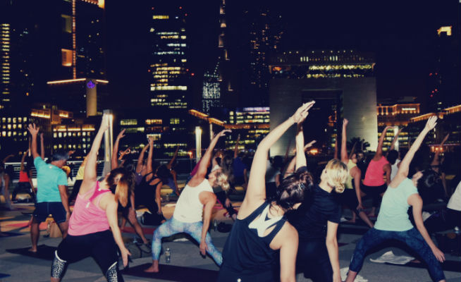 Talise Rooftop Yoga