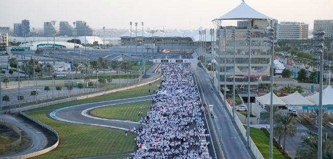 The 10th annual walkathon Walk 2016 will be held tomorrow at Yas Marina Circuit_AbuDhabi