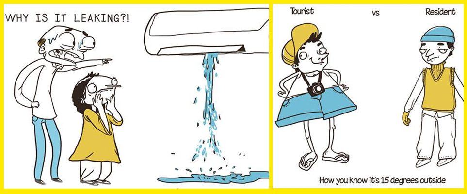 These 20 comic strips really understand life in Dubai