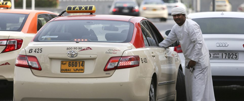 Most of Dubai's taxis will have free WiFi by December