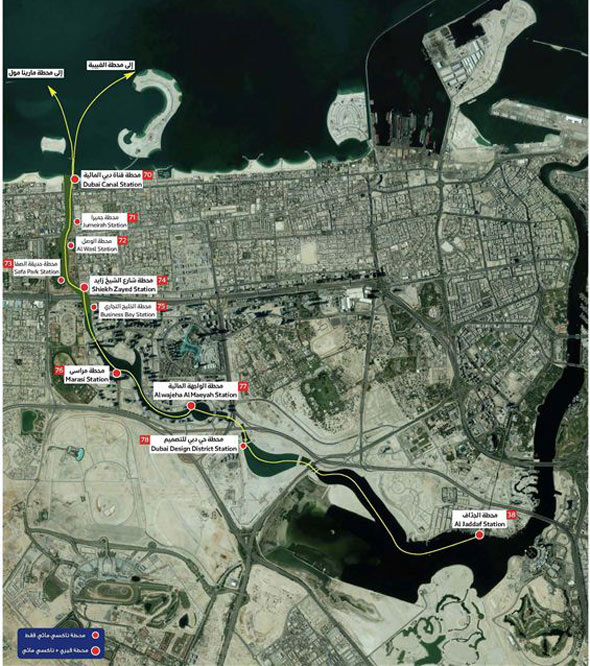 map-dubai-canal