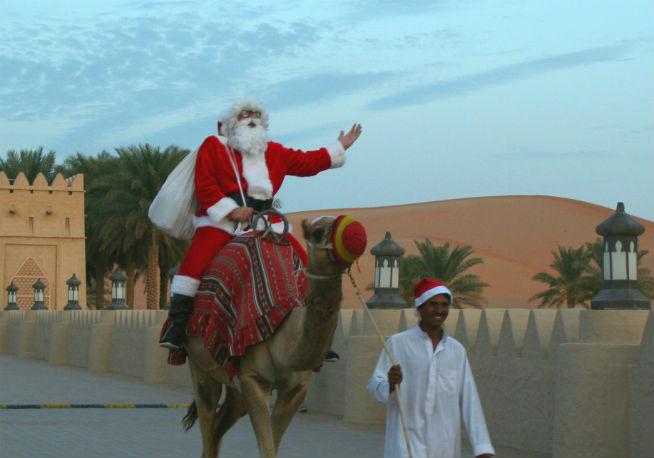 Qasr Al Sarab Santa Claus Arrival