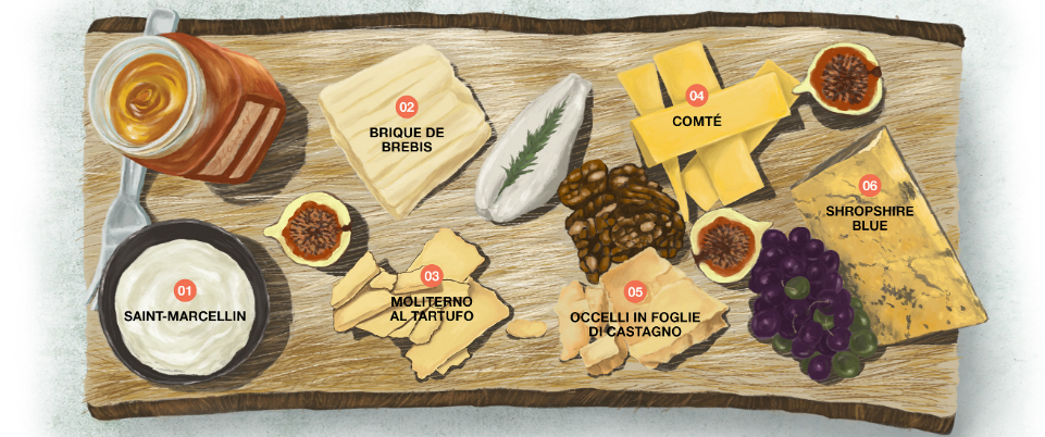 Be the big cheese: How to create the perfect cheeseboard
