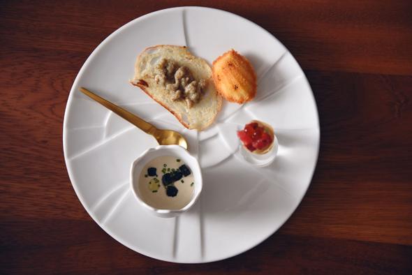 Chef Reif's Personally Selected Sturia Caviar...