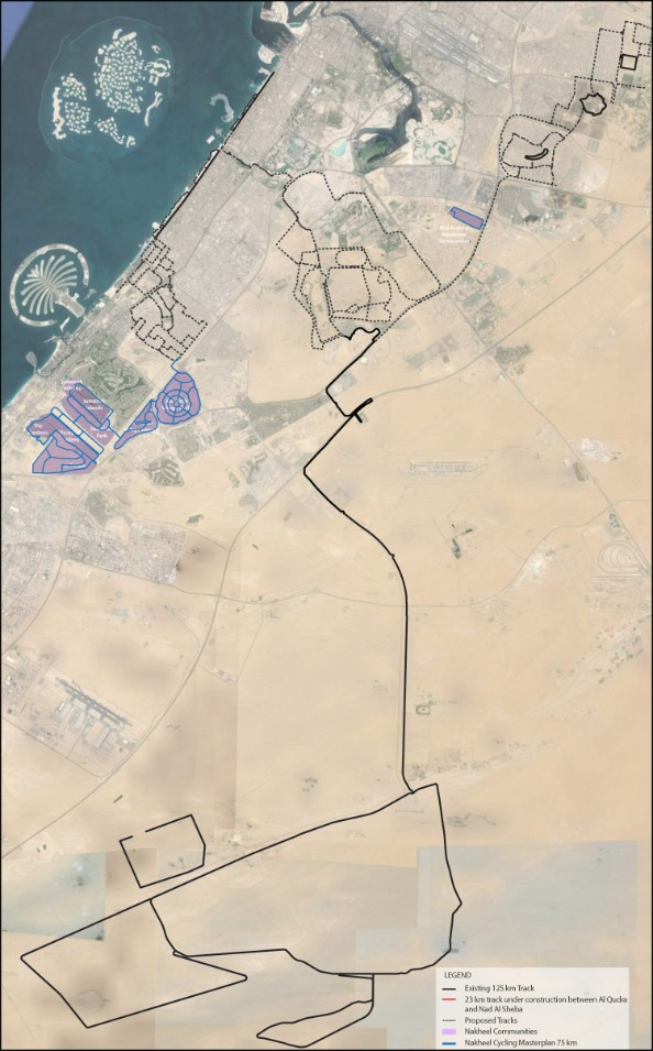 Dubai Cycling Master Plan