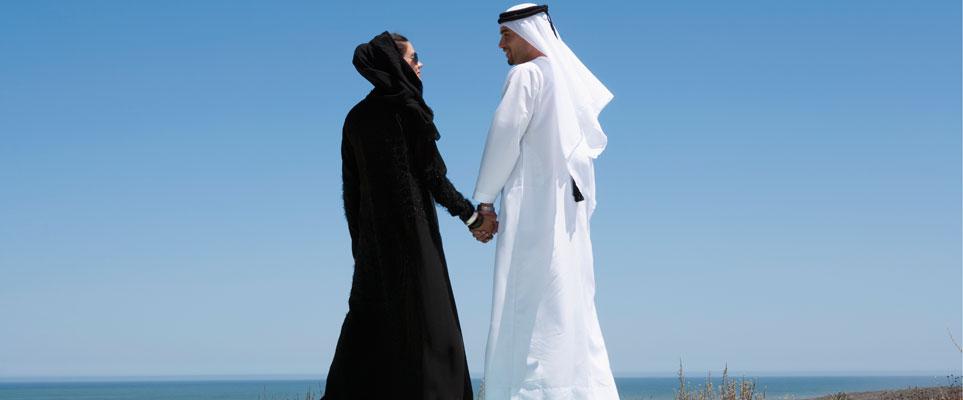 An emirati woman marrying Emirati Brides