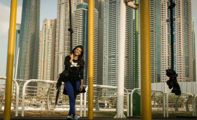 Amal Murad Skydive Dubai